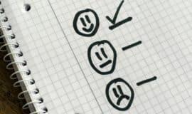 smiley face checklist